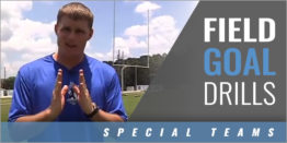 Field Goal Drills with Nick Fleming