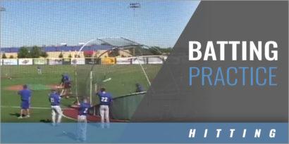 Batting Practice - Nathan Blackwood - Lubbock Christian Univ.