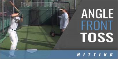Quick Fix Hitting - Angle Front Toss Drill - Joe Schaefer - Point Loma Nazarene Univ.