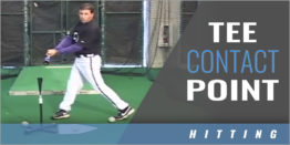 Tee Drills - Contact Point Hitting - Todd Whitting