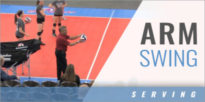 Serving: Arm Swing with Jeff Lipton