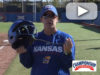 Infield – Fungo Helmet Drill – Megan Smith – Univ. of Kansas [VIDEO]