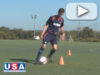 Footwork Drill – Turning Inside – United Soccer Academy [VIDEO]