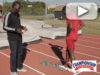 Hurdle Block Placement and Start: Jarius Cooper with Arkansas State Univ. [VIDEO]