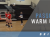 Passing Warm Up Drill with Alyssa D'Errico – University of Dayton