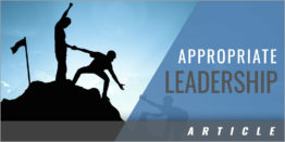 Coaching With an Appropriate Leadership Style