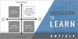 Understanding Motivation and The Learning Process