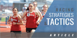 Racing Strategies and Tactics - For Outdoor Middle Distance Events