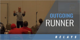 Relays Blind Exchange: Outgoing Runner Key Points