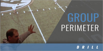 Practice Organization: Group Perimeter Drill