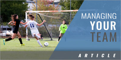 Managing Your Soccer Club: The 3 Most Important Responsibilities