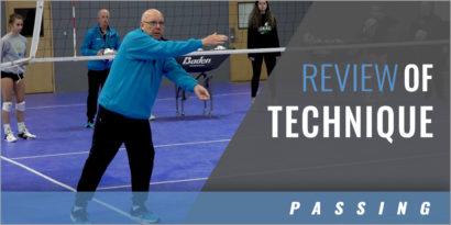 Passing Technique Review