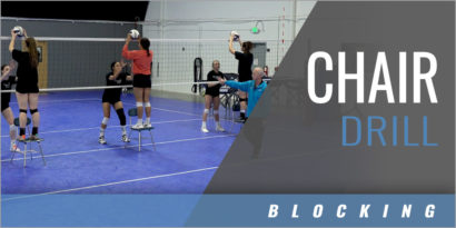 Blocking: Chair Drill off the Net