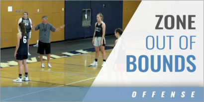 Zone Out of Bounds Play