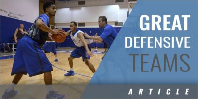 4 Characteristics of Great Defensive Basketball Teams