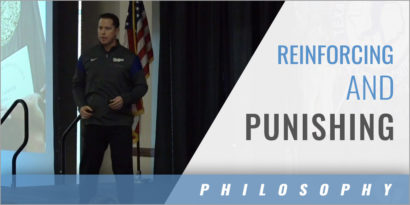 The Challenges of Reinforcing and Punishing