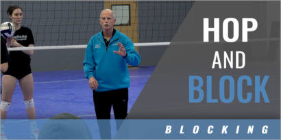Blocking Footwork: Hop and Block Drill