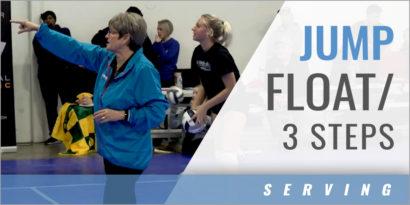 Serving: Jump Float/3 Steps