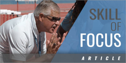 The Skill of Focus - Teaching Track and Field Athletes the Plan