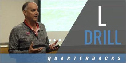 Quarterback Warmups: L Drill