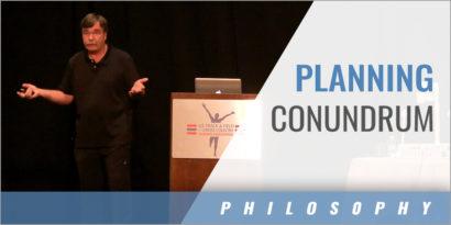 The Conundrum of Program Planning