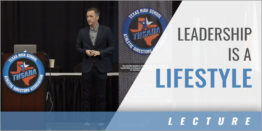 Leadership is a Lifestyle