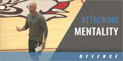 Attacking Mentality for Beating a Zone Defense