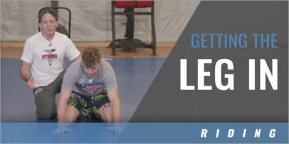 Leg Riding: Getting the Leg In