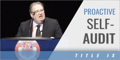 Title IX Compliance: Proactive Self-Audit