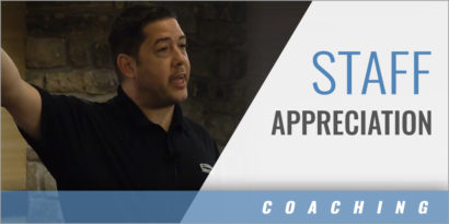 Compliment Your Staff in Front of the Players