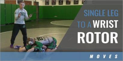 Single Leg to a Wrist Rotor