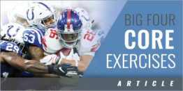 The Big Four Core Exercises and Their Modifications