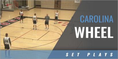 Carolina Wheel for Beating a Zone Defense