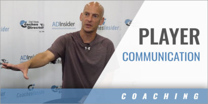 Encouraging Players to Coach Their Teammates