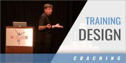 Training Design: Defining Foundational Touchstones