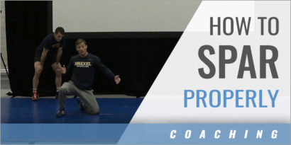 Teaching Young Athletes to Spar Properly
