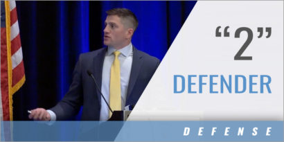 """Off-Ball Defense: Field Position for the """"2"""" Defender"""