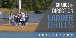 Infielder's Change of Direction Ladder Drills
