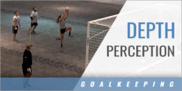 Goalkeeper Depth Perception High Ball Drill