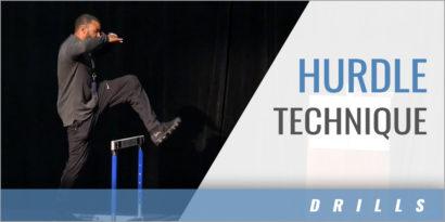 Hurdle Technique Drills