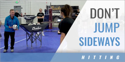 Hitting: Don't Jump Sideways