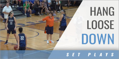 Offensive Set: Hang Loose Down