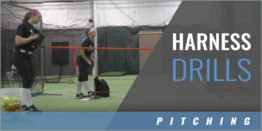 Harness Assisted Pitching Drills