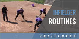 Infielder Routines
