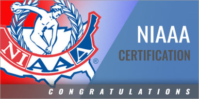 Athletic Administrators Achieving NIAAA Certification