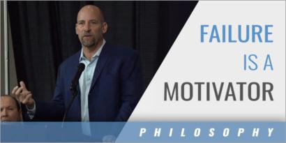 Failure Is a Motivator