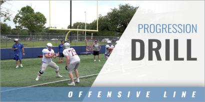 Offensive Line Drill Progression