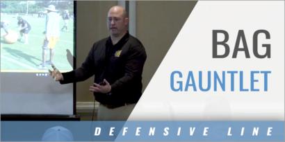 Defensive Line Bag Gauntlet