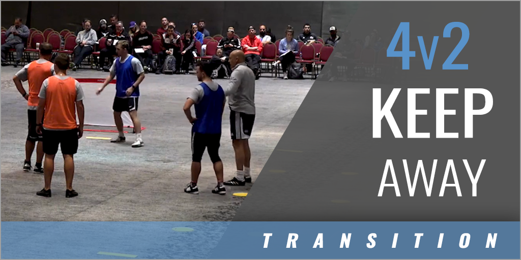 4v2 Keep Away Transition Drill