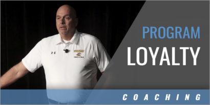 Developing Program Loyalty